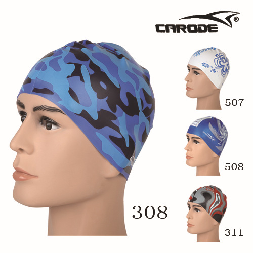 泳帽蓝308