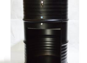 油桶形状特色收银台 圆柱形收银台现货 厂家直销 支持定做
