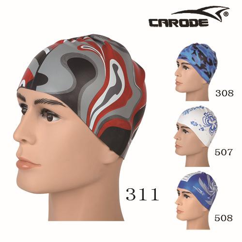 泳帽红311