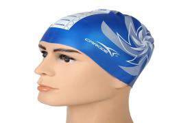 Carode卡乐迪 游泳泳帽 女款花色硅胶泳帽 夏季 游泳帽