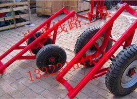 12米双杆运杆车 三马轮胎运杆车 电杆运输车