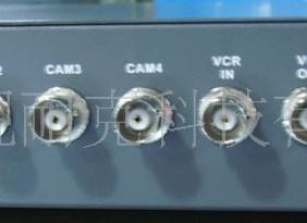 分割器 4路画面处理器 带电源遥控