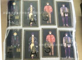 【厂家】供应2016最新流行PU雕刻烫图,广州镭射片