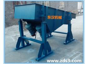 供应包头煤专用震动筛分机 长条形直线振动筛 双电机 大功率