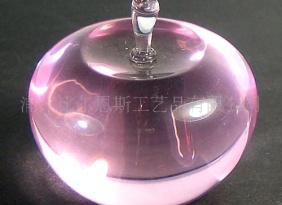 厂家批发 供应各种水晶工艺品、水晶苹果、葡萄等 节日送礼佳品