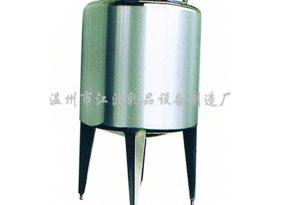 厂家直销卫生级不锈钢储罐 立式贮罐 鲜奶饮料食品机械加工设备