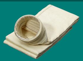 除尘设备配件--除尘布袋 PTFE覆膜高温针刺毡除尘布袋