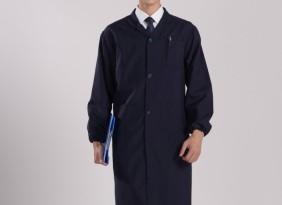 厂家批发 蓝大褂长袖 加厚防尘搬运工作服广告兰马褂定做可印字