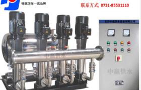 陜西漢中市無塔供水設備廠