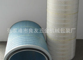 品质保证 烟草专用滤筒 工业设备除尘滤筒