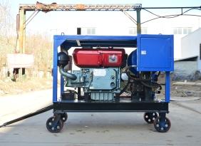 柴油机驱动下水道疏通设备|下水道排淤泥设备厂家