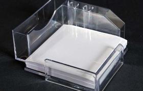 亞克力透明多功能【便簽盒】  有機玻璃/ 壓克力便簽盒