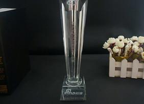 厂家批发定制水晶奖杯,五角星奖杯 赛事纪念品