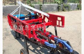 拖拉机悬挂式花生收获机 平地起垄种植专用型