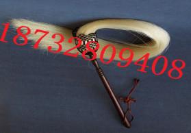 专业生产70cm真马尾拂尘  枣木杆拂尘  高档拂尘18732809408