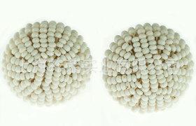 廠家定做珠繡紐扣 手工串珠紐扣 釘珠紐扣 包珠扣 毛線繡花紐扣