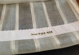 厂家直销批发窗帘窗纱工程布艺 柯桥成品现货白纱 书房客厅  麻纱