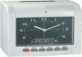 带电池全英文按键出口考勤机、打卡钟 自动音乐转换 W-2200