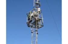 测风塔价格_无线通信塔现货【众达】