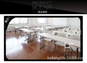 出口6英尺吹塑折叠桌 厂家直销会议桌 培训桌子1米8长条桌