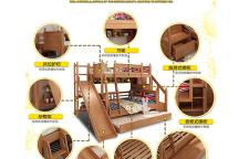 江门儿童上下床厂家,定制家具经久耐用