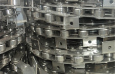 内蒙节省空间不锈钢网带输送线图片