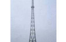 电信通讯管塔厂家_电信45米独管塔现货【众达】