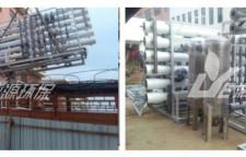 广西工业污水处理工程开始安装啦