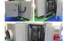 草木绿一体式中央除尘器(滤筒式)和油烟净化一体机亮相环博会