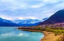 去西藏旅游一定要来看看这条湖,风景秀丽美如画