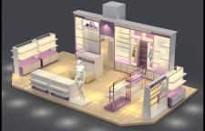 济南市高端的商场展厅设计报价