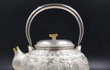 银宝工艺:手工银壶的制作过程