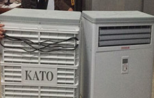 库房味道特难闻银行金库房空气净化器效果还是很得意