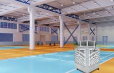 体育馆除味空气净化器的凈化裝置在市場得到客戶認可