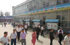 石家庄复兴中学迎新乐教育局近100名教育同仁观摩