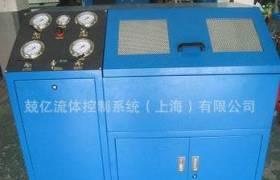 10MPa高压钢管弯曲试验台_液压管挠曲试验机_JY-FT拉伸测试机厂家