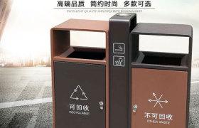 西安環保垃圾桶_戶外不銹鋼垃圾桶廠家批發定制