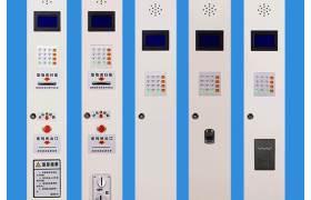 厂家直销商场公司超市储物柜密码智能电子存包柜24门条码寄存柜现