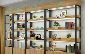 簡約現代產品展示柜倉儲貨架自由組合多層陳列架多功能化妝品架子