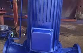 静音管道泵SPG立式循环泵静音屏蔽泵管道式超静音屏蔽泵