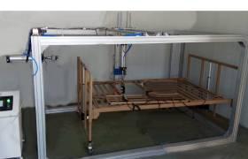 护理床水平载重耐久性试验机护理床护栏强度测试机