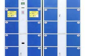 厂家供应智能条码存包柜超市商场电子存包柜