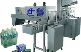 全自动袖口式酒水自动膜包机