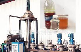 重庆阳江环保低损基础油柴油脱色除味溶剂萃取成水白色油样设备