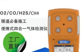 ES30A四合一有毒有害氣體檢測儀硫化氫一氧化碳甲烷隧道工程用