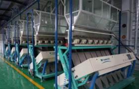 全自動色選機大米米機設備色選機價格小型彩色CCD大米色選機