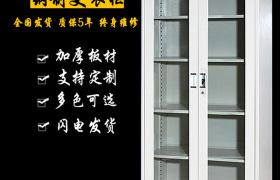 优质钢柜 通玻文件柜 钢制文件柜 杰威办公家具厂家批发