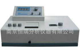 分光光度計722型光柵分光光度計鋁合金分析儀圖