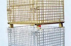 仓储笼折叠笼铁框蝴蝶笼物流台车车间快递周转箱大铁笼仓库储物笼