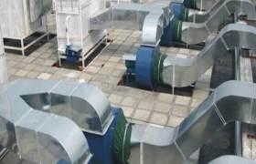 公司主营酒店白铁皮消防风管空调换气管道通风工程安装